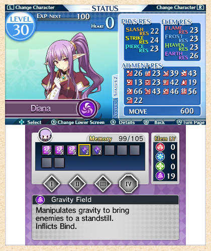 Lord of Magna: Itinerary Screenshot 2A