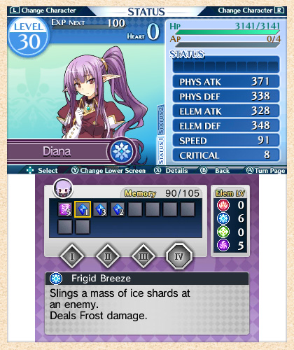 Lord of Magna: Itinerary Screenshot 2B