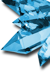 Lord of Magna blue crystals